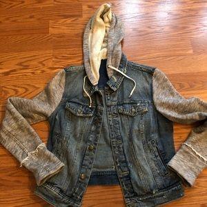 Free People denim jacket